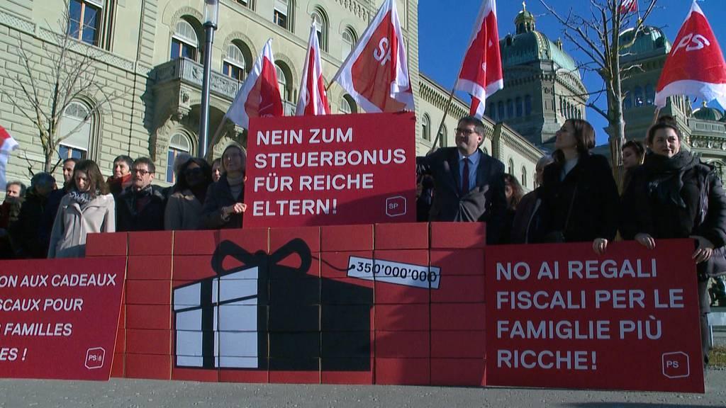"""Referendum gegen """"Kinderabzug für Reiche"""" kommt an die Urne"""