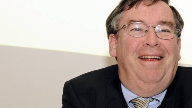Hat gut lachen: Finanzvorstand Martin Vollenwyder (Archiv)