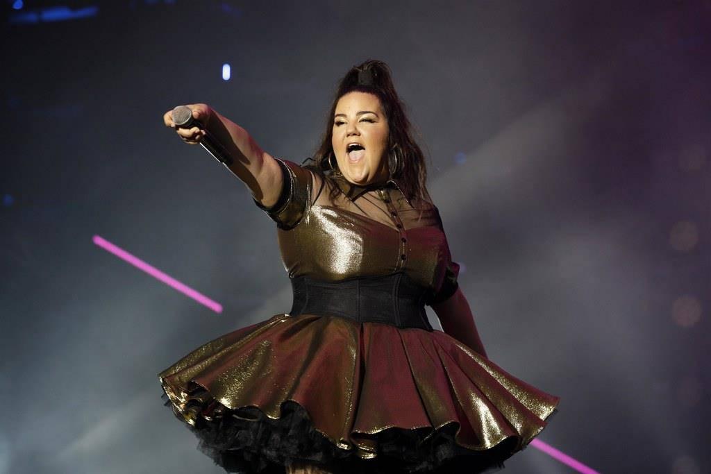 Sängerin Netta als ESC-Kandidatin im April 2018.