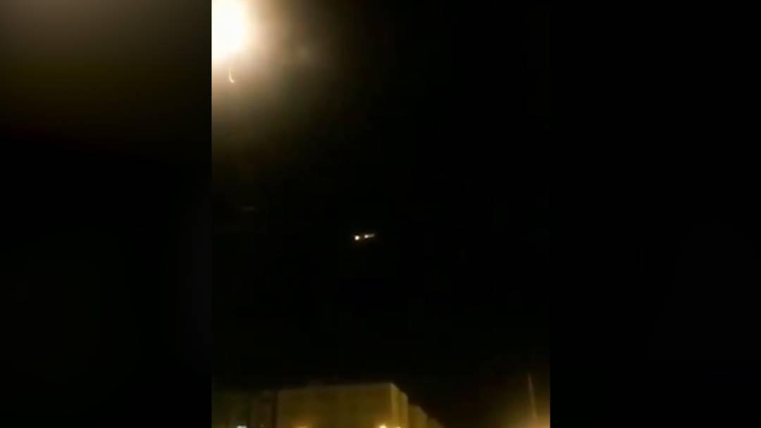 Iran: Video zeigt Abschuss der Boeing 737