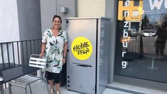 Tanja Bender ist stolze Betreiberin des «Madame Frigo».