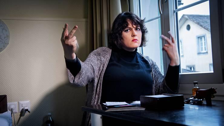 Kabarettistin und Bühnenpoetin Patti Basler. (Foto: Geri Born)