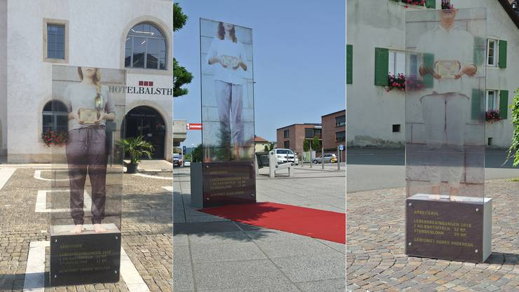 Denkmale zu «Verschiebungen 18/18» in Balsthal, Breitenbach und Dornach.