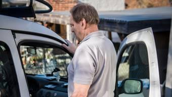 Als Malermeister ist Andreas Hofmaier aufs Auto angewiesen. Fahren darf er aber nicht.