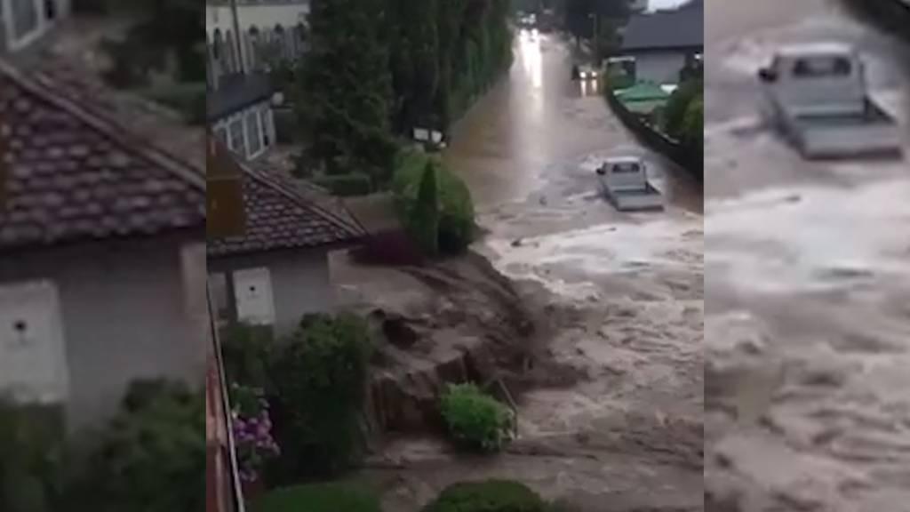 Hochwasser und Überschwemmungen im Kanton Bern