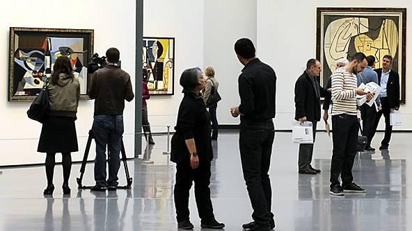 Die Picasso-Ausstellung im Kunsthaus Zürich zog viele Besucher an (Archiv)