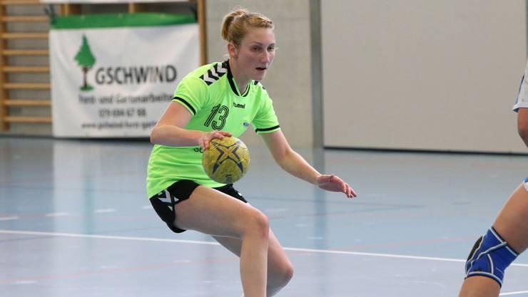 Die Spielerinnen des HSG Leimental drehten die Partie gegen Malters.
