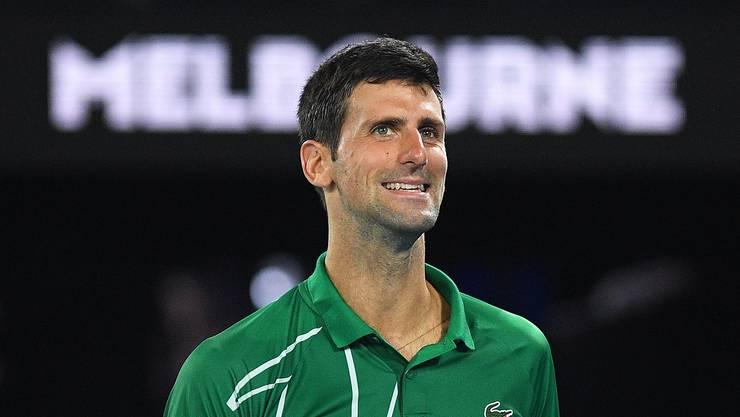 Novak Djokovic schlägt versöhnliche Töne an.