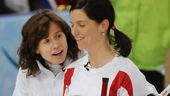 Neue Zuversicht bei den Swiss Ladies Mirjam Ott und Carmen Küng.