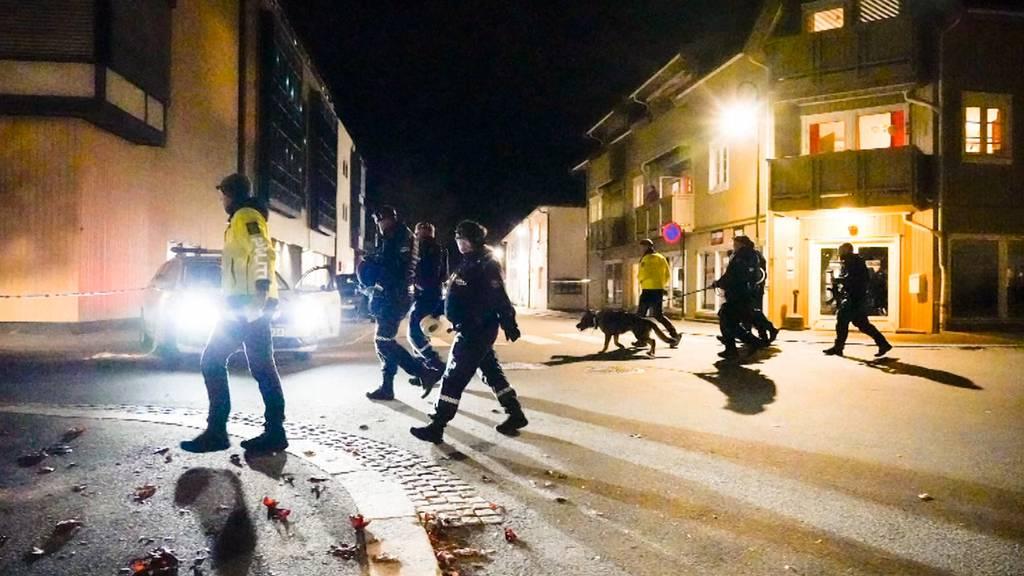 Nach Angriff mit Pfeil und Bogen in Norwegen: Polizei spricht von Terrorakt