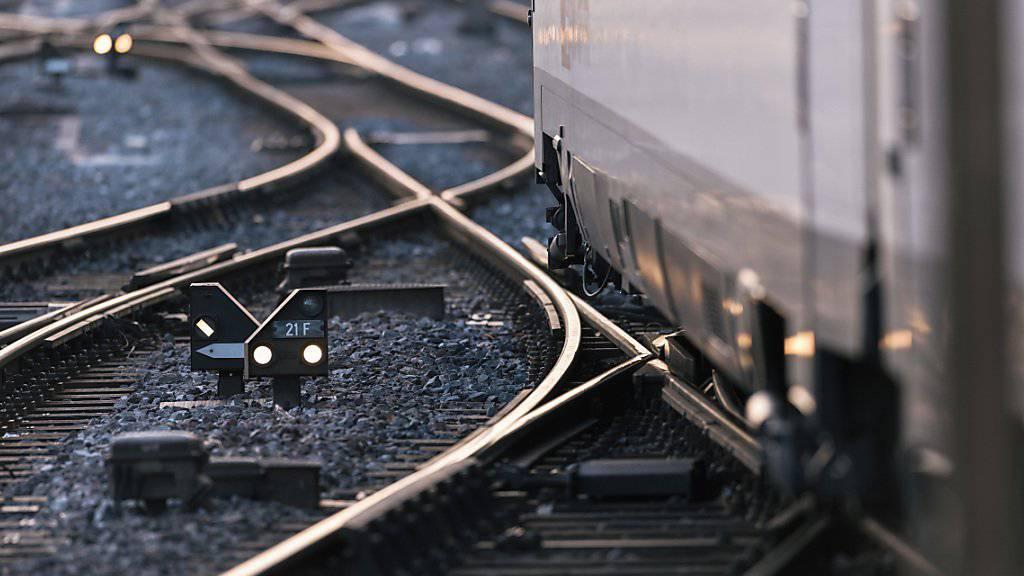 Zugstrecke zwischen Zürich und Rapperswil stellenweise unterbrochen