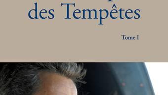HANDOUT - Das Cover des Buches «Le Temps des Tempêtes» (Die Zeit der Stürme) des früheren französischen Staatschefs Sarkozy. Foto: Éditions de l'Observatoire /dpa