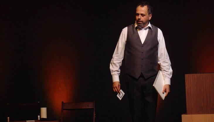 Gammenthaler verzauberte am Donnerstag auf der Bühne des Comedyzelts in Schlieren seine Zuschauer.