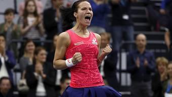 Viktorija Golubic feiert gegen Siegemund auf Schweizer Boden den achten Sieg hintereinander.