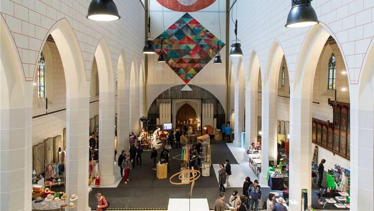 An der Authentica 2017 stellten 60 Kleinproduzenten in Königsfelden aus.