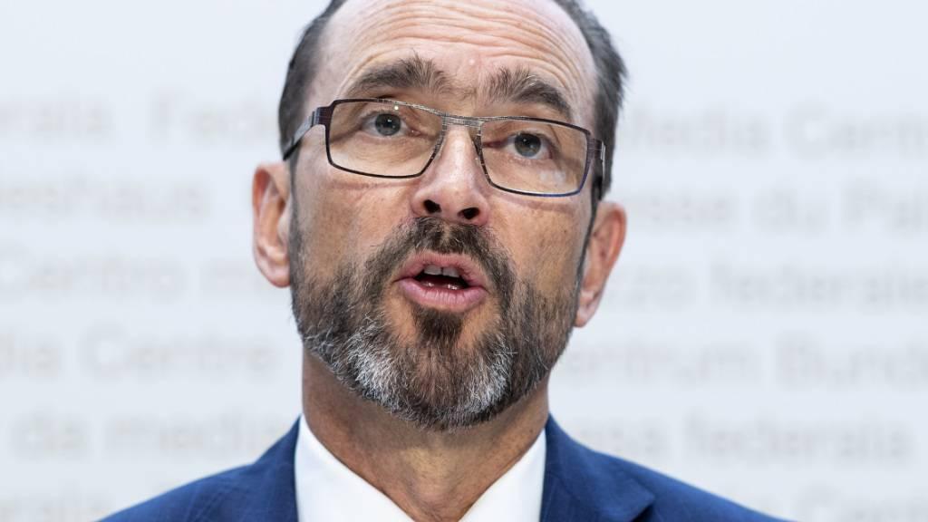 BAG-Direktor Pascal Strupler tritt in einem Jahr zurück