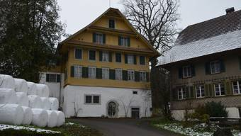 Das Bauernhaus war früher auch eine Bäckerei und birgt hinten eine Sägerei sowie weitere Gebäude.