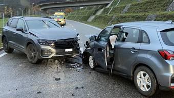 Unfall auf der Staffelegg in Küttigen (November 2020)