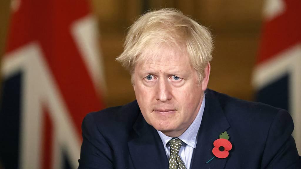 Britischer Premierminister Johnson in Corona-Quarantäne