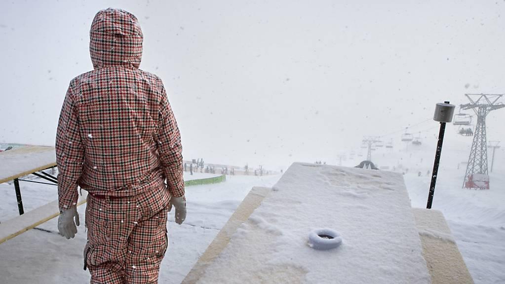 Das Wetter lässt kein Wintersport auf Wettkampf-Niveau zu. (Archivaufnahme)