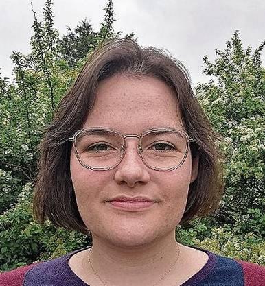Nicht unterstützt: Cybel Dickson (Juso), Bad Zurzach, geboren 1998.