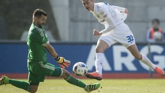 Der Ex-FCZler Aldin Turkes war bei Rapperswils Sieg gegen Schaffhausen Matchwinner