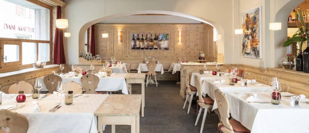 Trouvaillen für Weinnasen: La Padella (im Hotel Donatz), Samedan (© Hotel Donatz)