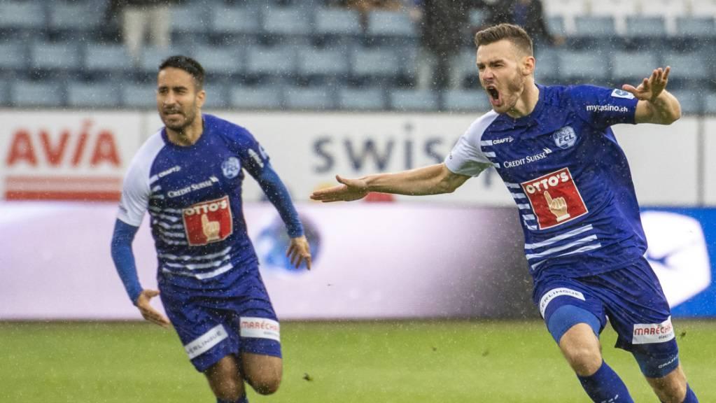 Samuele Campo und Silvan Sidler bringen den FCL in Schwung