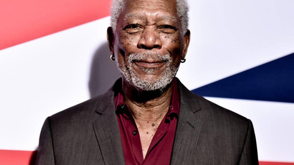 Schauspieler mit Hang zum Pragmatismus: Morgan Freeman. (Archivbild)