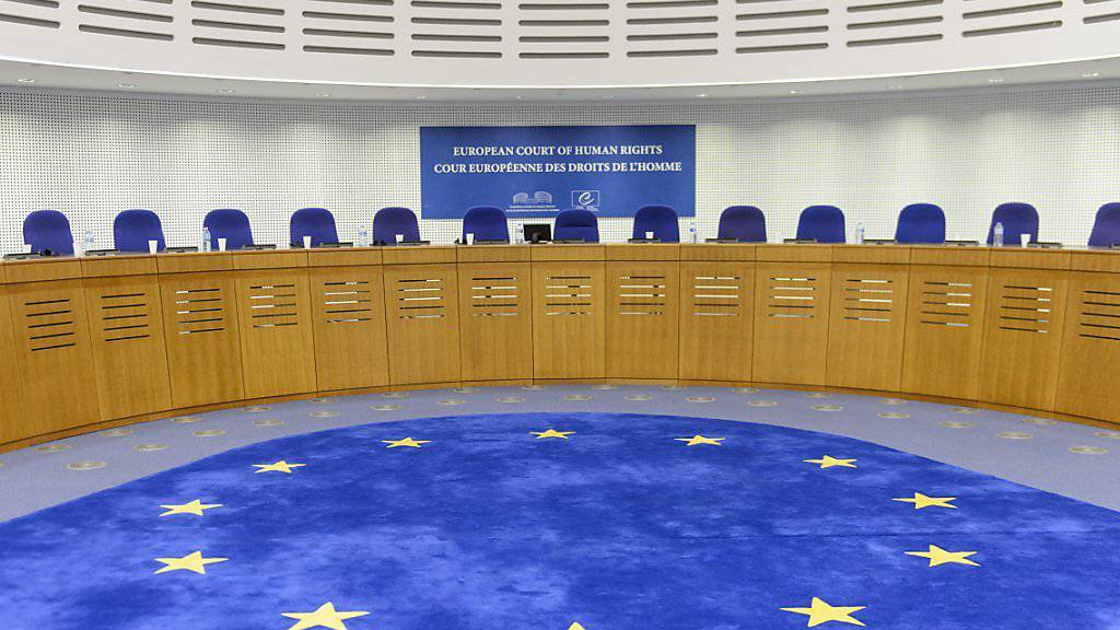 Die Grosse Kammer des EGMR in Strassburg