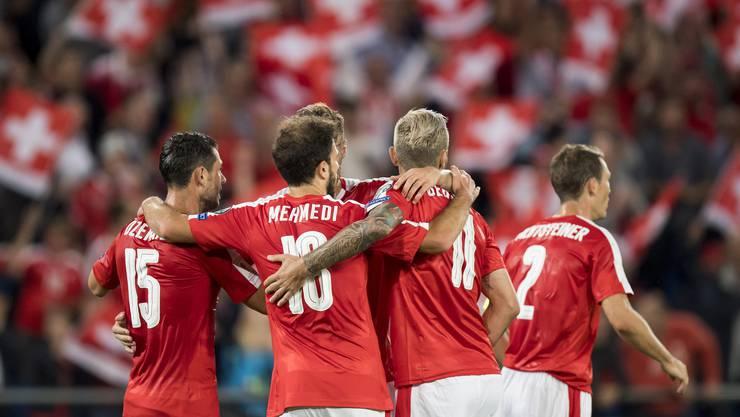 Nicht nur die Stürmer überzeugen gegen Portugal.