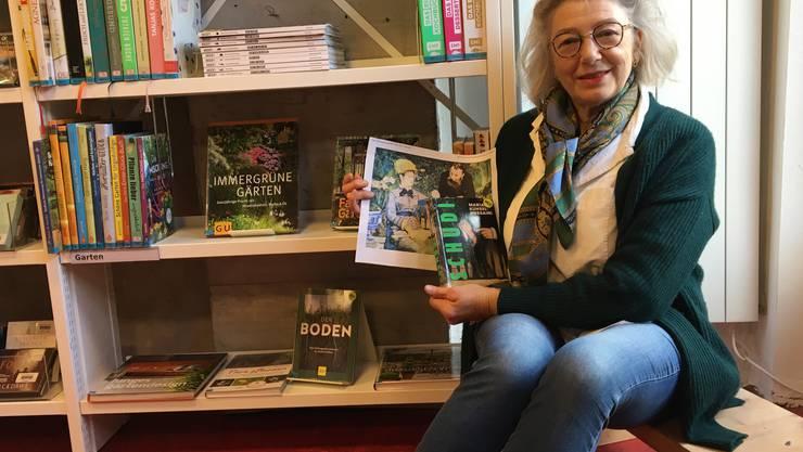 Eben gelesen mit Larissa Schenck von der Bibliothek Aesch.