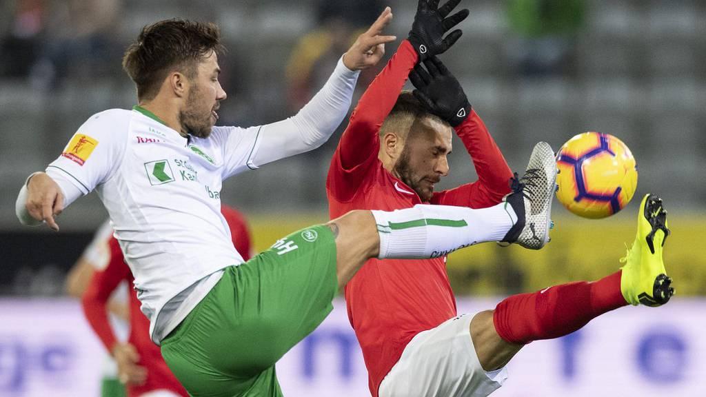 Der FC St.Gallen steht hinter Alain Wiss.