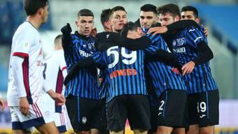 Fingerzeig in Richtung Viertelfinal: Atalanta Bergamo bekundet mit Cagliari Calcio nur wenig Mühe.