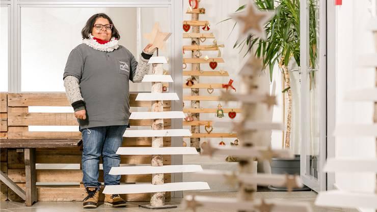 An ihren Weihnachtsbaum kommen unter anderem Chili-Schoten. «Aber man muss aufpassen, wenn man da reinbeisst», sagt Uma Birrer.