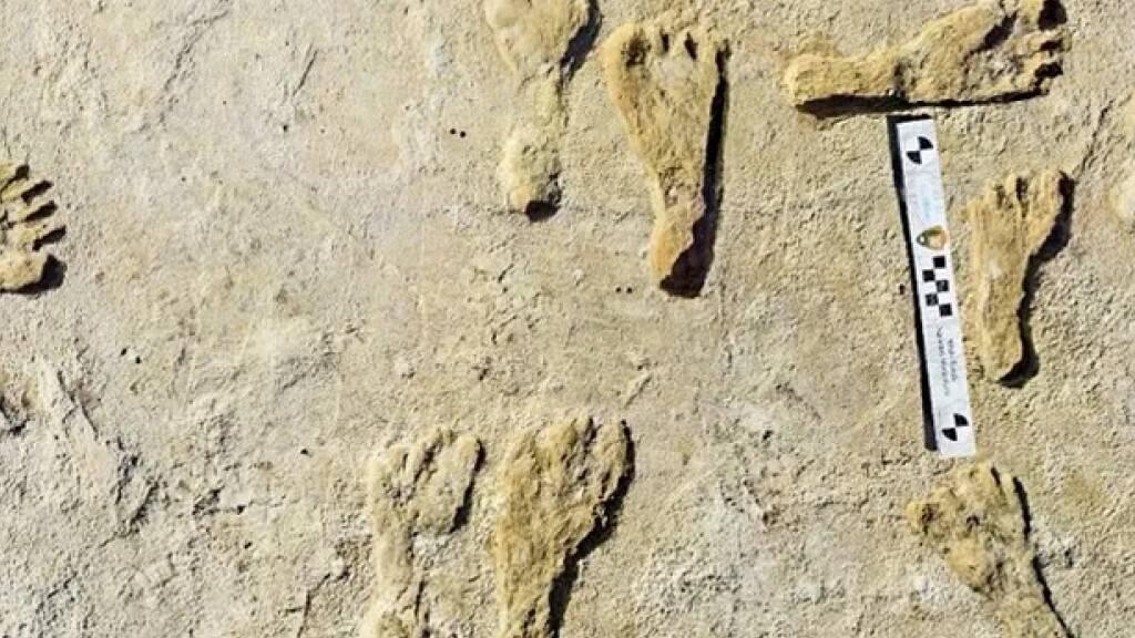 Fussspuren belegen, dass Amerika in der Eiszeit schon besiedelt war