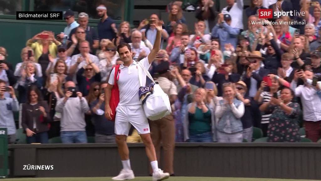 Nach Viertelfinal-Aus: War es Federers letztes Mal Wimbledon?