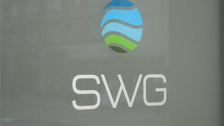 Das Logo der SWG. Verwaltungsrat und Gemeinderat sind zurzeit schlecht aufeinander zu sprechen.
