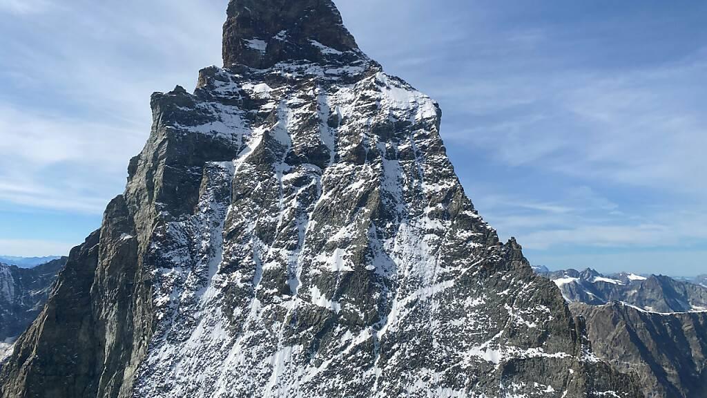 Der polnische Alpinist wurde am Donnerstag tot in der Nordwand des Matterhorns im Kanton Wallis entdeckt.