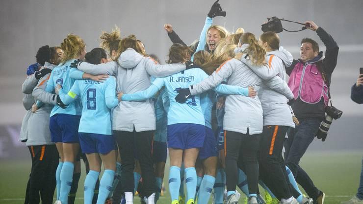 Schlussendlich jubelt die Niederlande: Mit einem Gesamtergebnis von 4:1 setzten sie sich gegen die Schweizer Frauen durch.