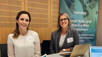 Nubana-Gründerin und -CEO Raphaela Cusati (links) zusammen mit Advisory Partner Tanja Küpfer.