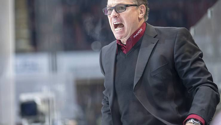 Servette-Coach Chris McSorley ist nicht zufrieden.