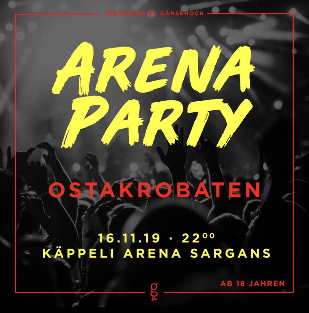 Arena Party in Sargans