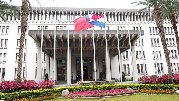 Taiwans Aussenministerium in der Hauptstadt Taipei hat einen Verbündeten verloren: Panama bricht nach mehreren Jahrzehnten die diplomatischen Beziehungen ab. (Archivbild)