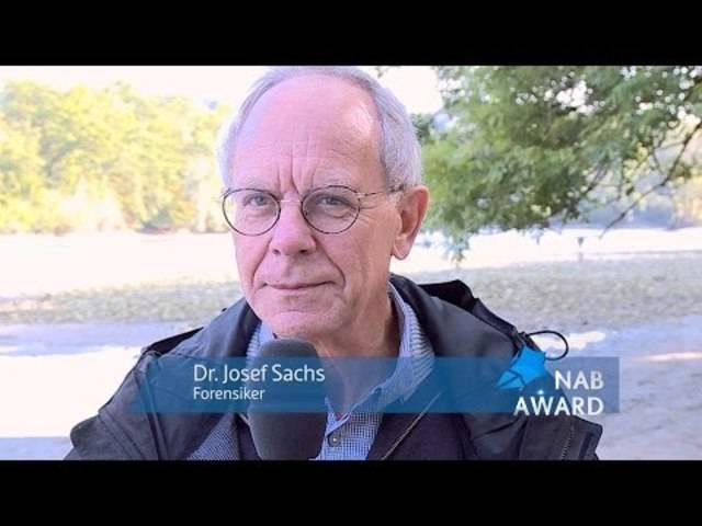 NAB-AWARD 2015 - Dr. Josef Sachs (Kandidat)