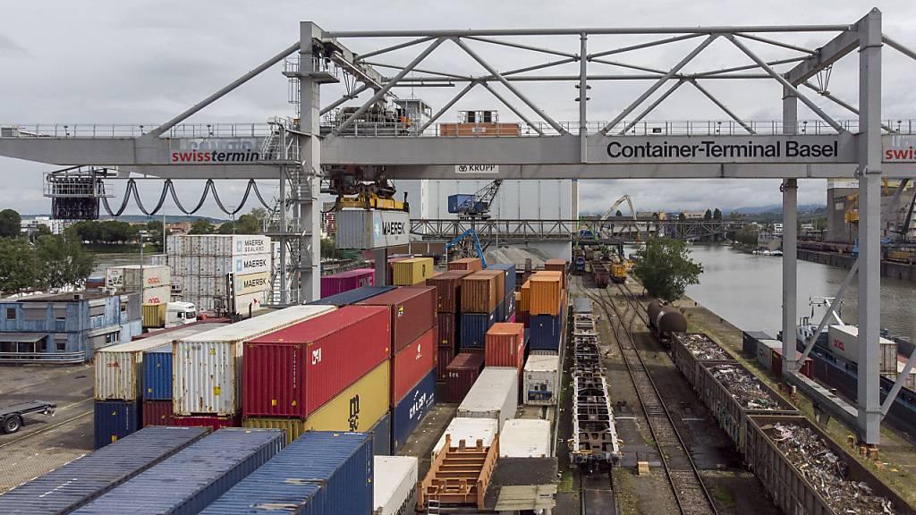 Schweizer Exporte im Mai auf neuem Allzeithoch