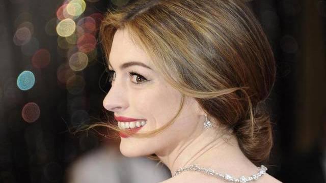 Anne Hathaway war zusammen mit James Franco Moderatorin des diesjährigen Oscars-Gala