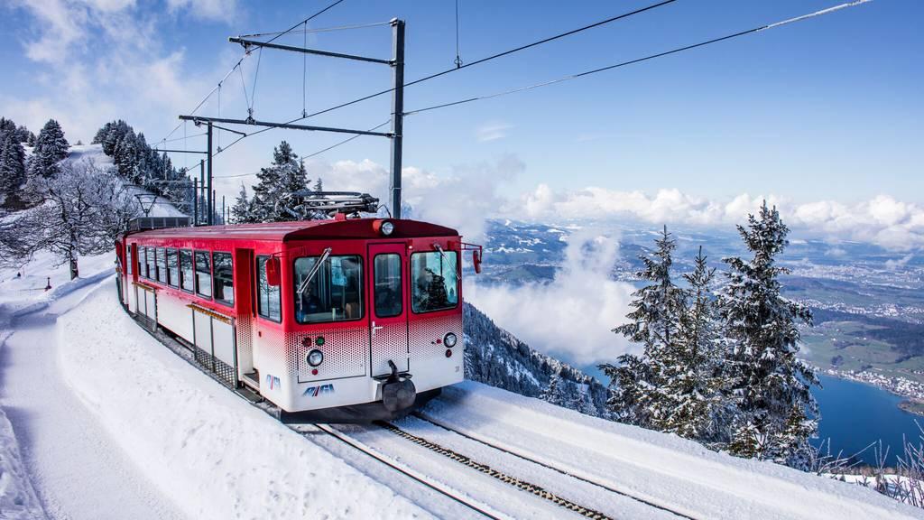 Rigi Bahnen erneut mit Besucher-Rekord