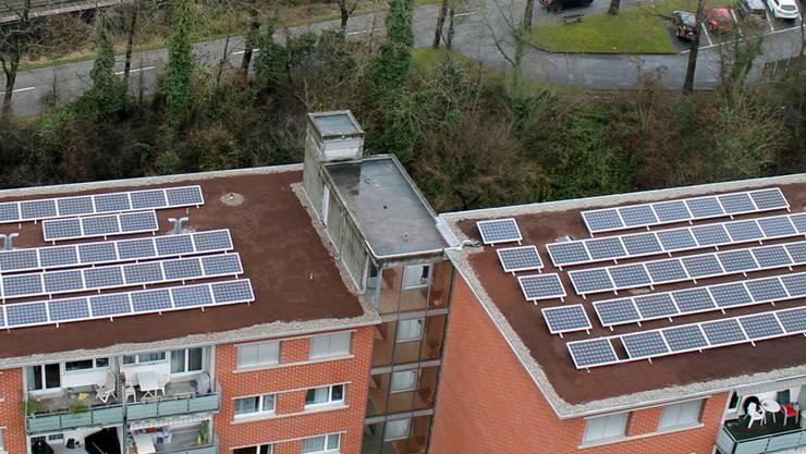 Mit dieser Anlage werden rund 47'000 kWh Strom produziert.