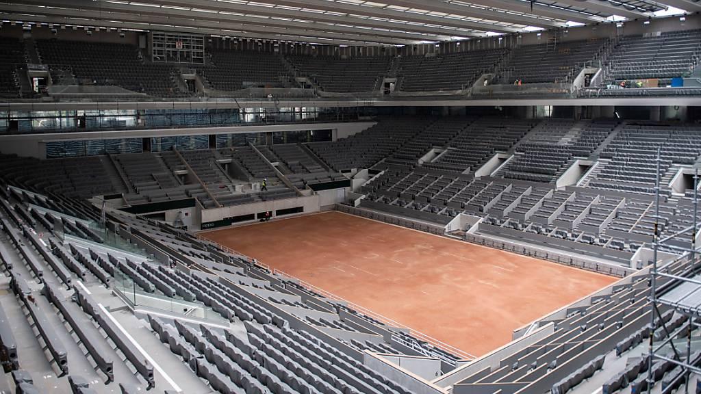 Roland Garros mit weniger Zuschauern als erhofft